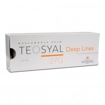 TEOXANE TEOSYAL DEEP LINES 2X1ML